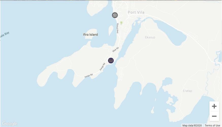 Map Location Warwick Le Lagon Vanuatu