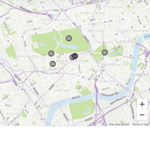 Map location Capital Townhouse London