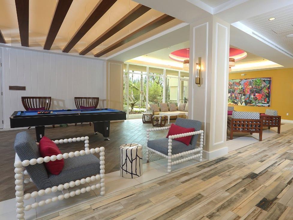 Lobby Sitting Area at Warwick Paradise Island Bahamas