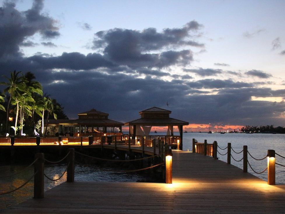 Sunrise at Warwick Paradise Island Bahamas