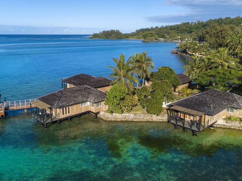 Aerial at Warwick Le Lagon Vanuatu