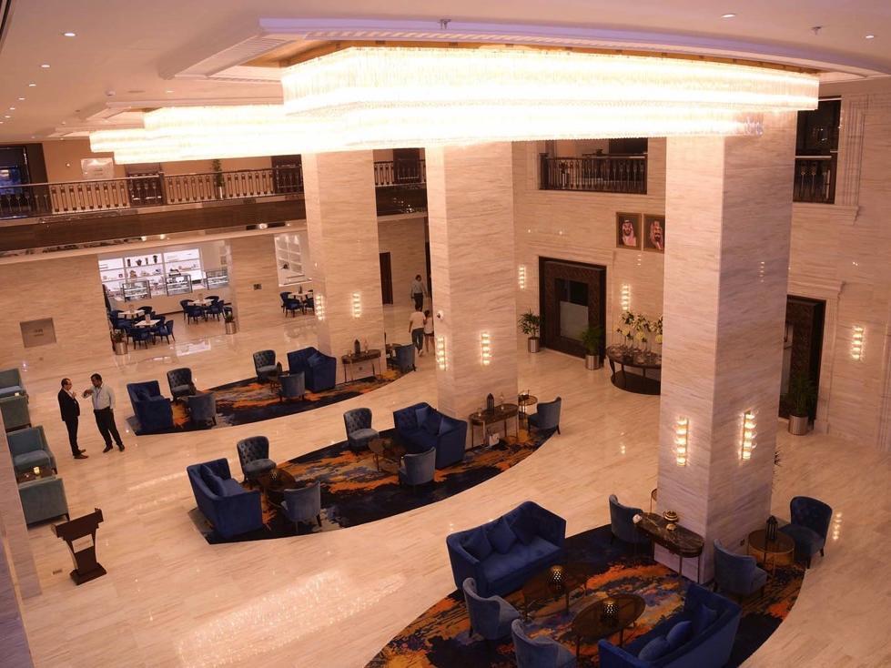 Lobby at Warwick Al Khobar