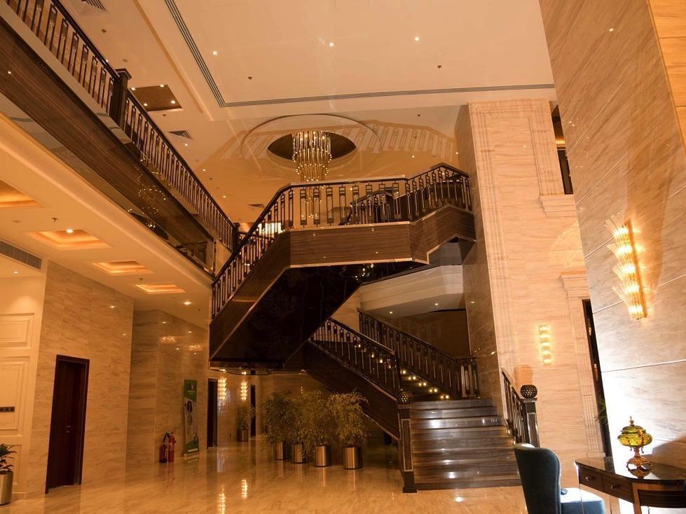 Lobby Stairs at Warwick Al Khobar