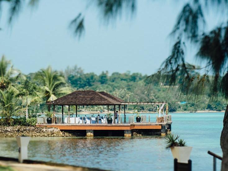 Overwater Deck at Warwick Le Lagon Vanuatu