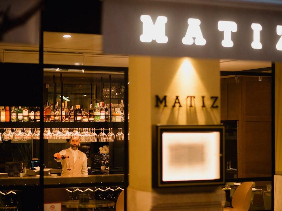 Matiz Entrance at Hotel Molina Lario