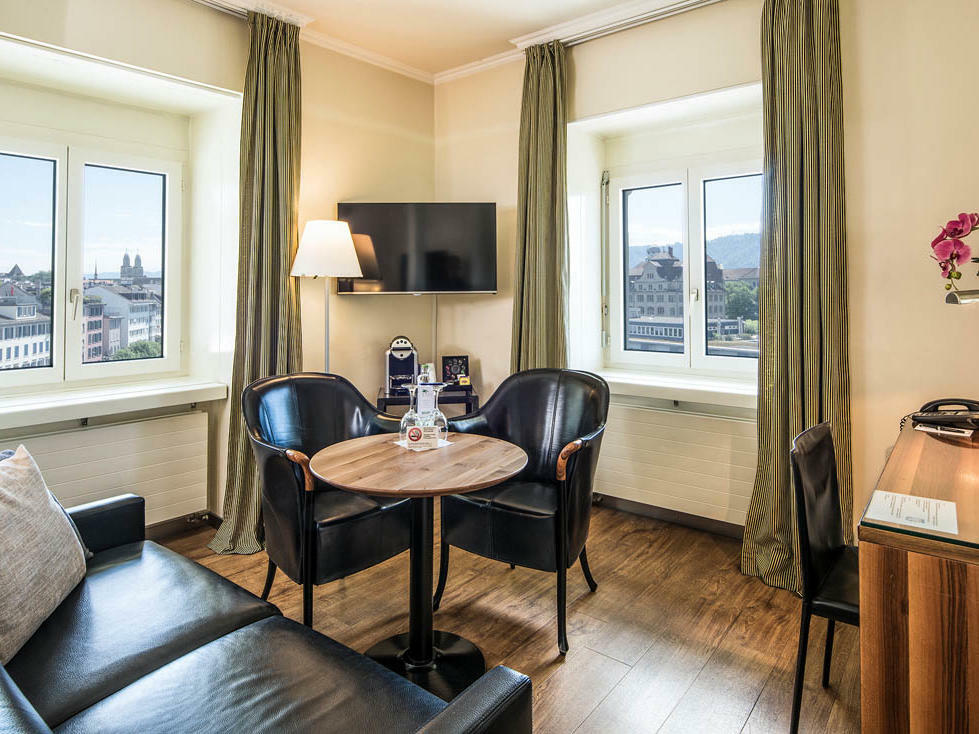Junior Suite at Central Plaza Hotel Zurich