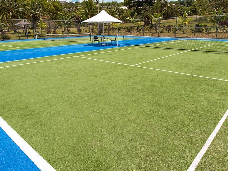 Tennis at Warwick Le Lagon Vanuatu