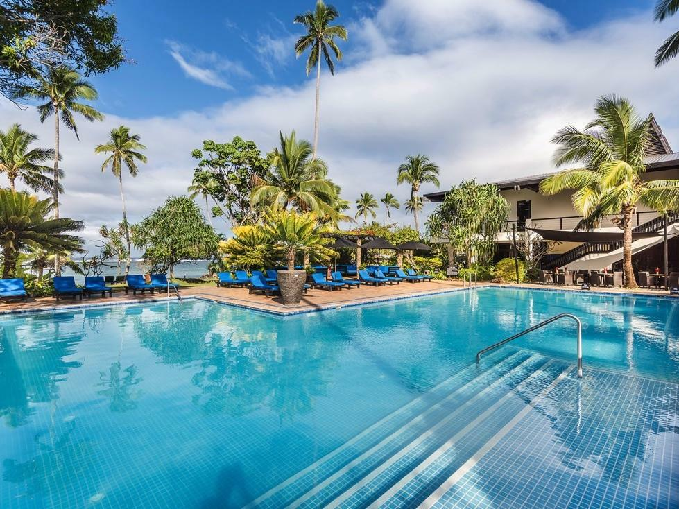 Adults Only Pool at Warwick Fiji