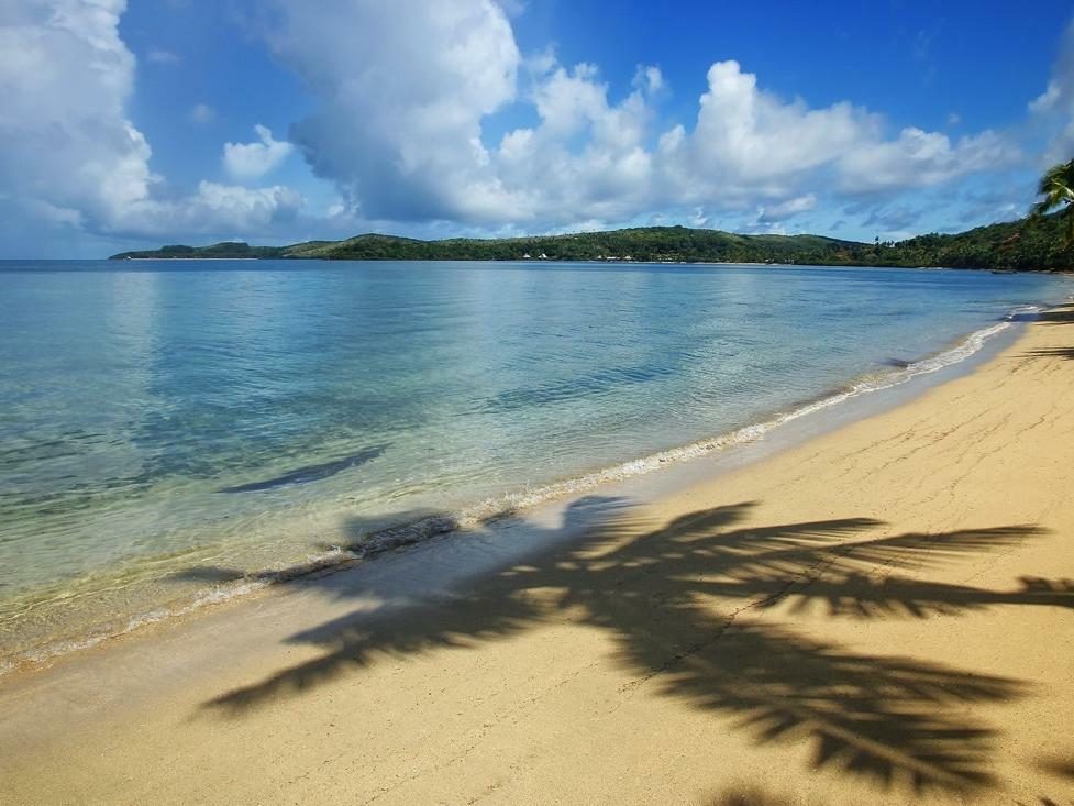 Beach in Fiji