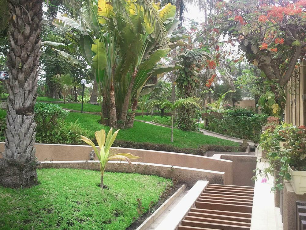 Hôtel-Jardin Savana Dakar garden