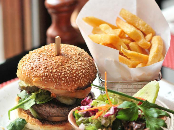 Chutney - Beef Burger