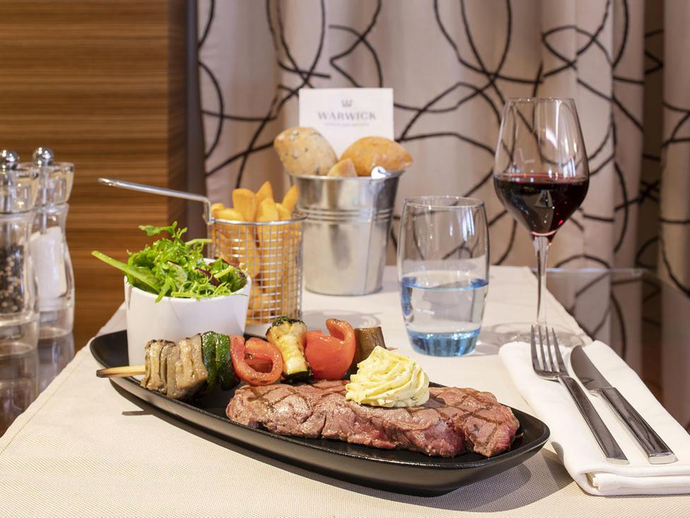 Téséo Restaurant Chef specials Beef Entrecote