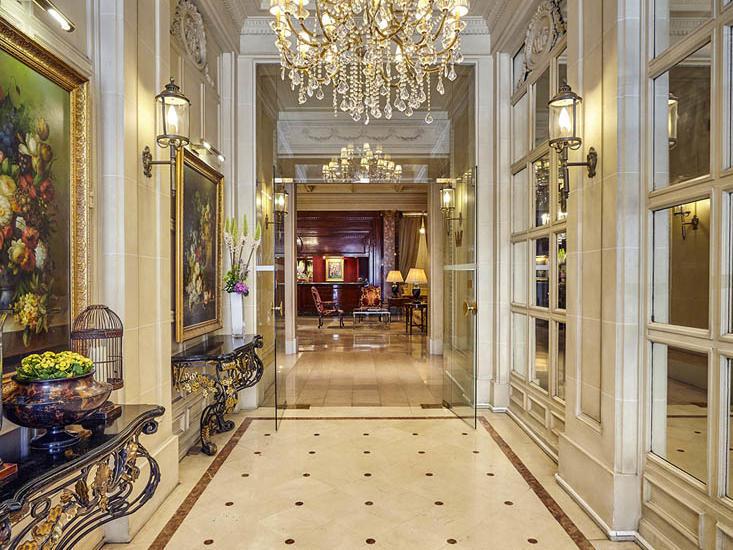 Hôtel Westminster Lobby Corridor