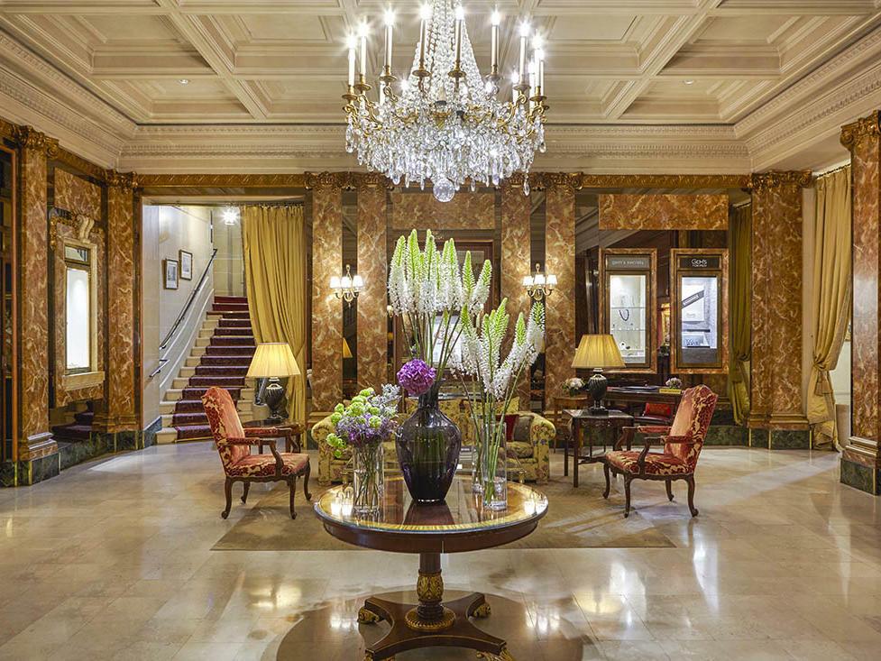 Hôtel Westminster Lobby