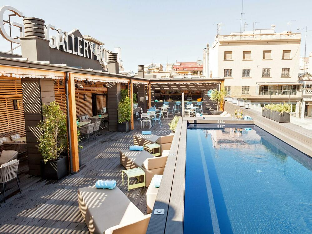 TOP swimming pool at Gallery Hotel Barcelona