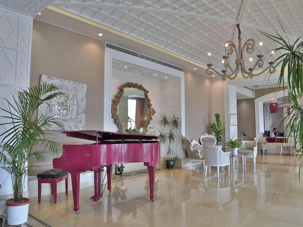 Lobby Area - Piano