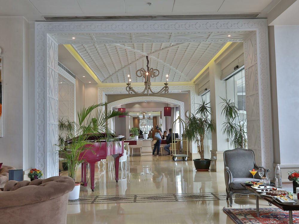 Lobby with Piano