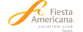 A logo of the Fiesta Americana hotels and resorts
