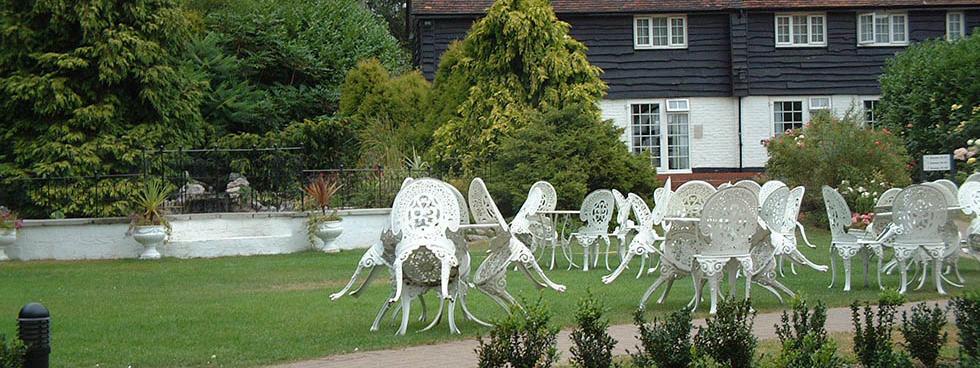Garden at The Barn Hotel, Ruislip