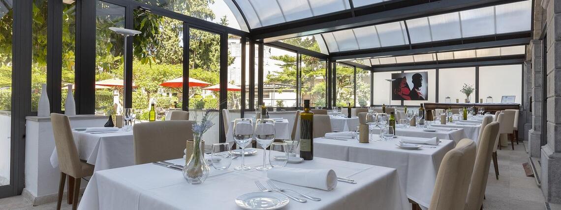 Ca'n Blau Restaurant at Gran Hotel Sóller in Sóller, Majorca