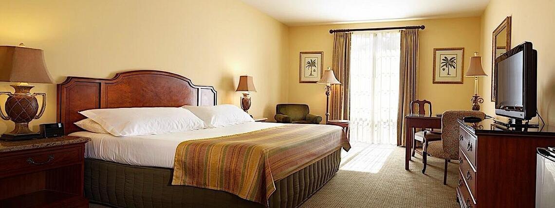 deluxe guest bedroom
