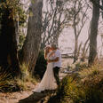 Couple at woods in Freycinet Lodge