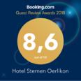 Booking.com 8,6 grade