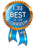 Award icon: CBJ Best of Corridor in 2018