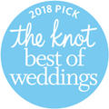 The Knot Best of Weddings 2018 Pick Logo