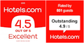 Hotels.com Excellence Rating logo