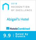 HotelsCombined Recognition of Excellence logo