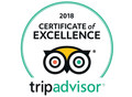 TripAdviror Certificate of Excellence logo