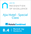 2019 Recognition of Excellence for A'jia Hotel Istanbul