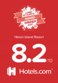 Score of Heron Island Resort in Queensland, Australia