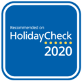 Hotel recomendado Holiday Check 2020