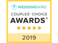2019 Wedding Wire Couples Choice Awards logo