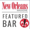 New Orleans Magaine Featured Bar Logo