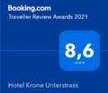 Guest reviews about Hotel Krone Unterstrass in Zurich