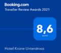 Guest reviews about Hotel Krone Unterstrass in Zurich