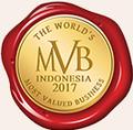 The World MVB Indonesia 2017 logo