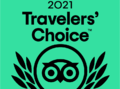 TripAdvisor 2021 Travelers' Choice Award