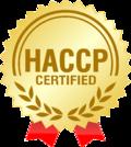 HACCP certificated logo