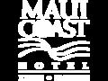 Maui Coast Hotel Kihei Hawaii logo in white