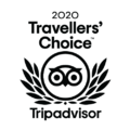 Travelers Choice poster in Hotel at Old Town Wichita