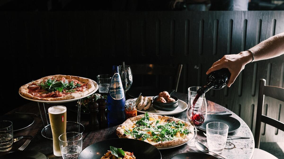 Italian Restaurant Crown Melbourne