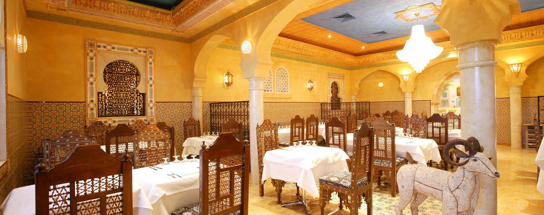 Restaurant at Hôtel du Pasino in Saint-Amand-Les-Eaux, France