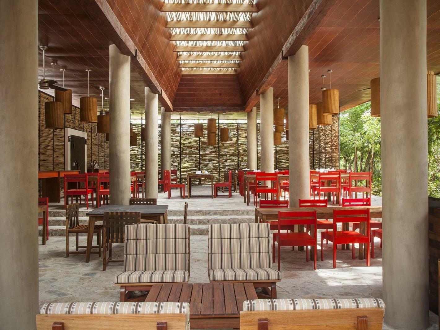 Restaurant Sitting Area