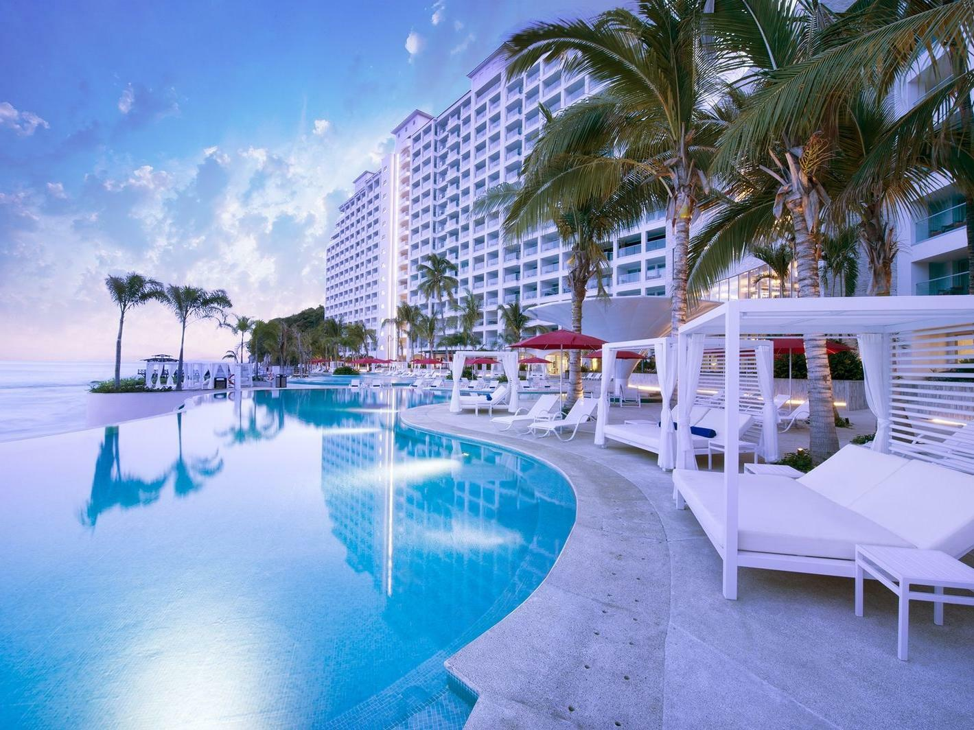 Pool at Grand Fiesta Americana Puerto Vallarta All Inclusive Adults Only