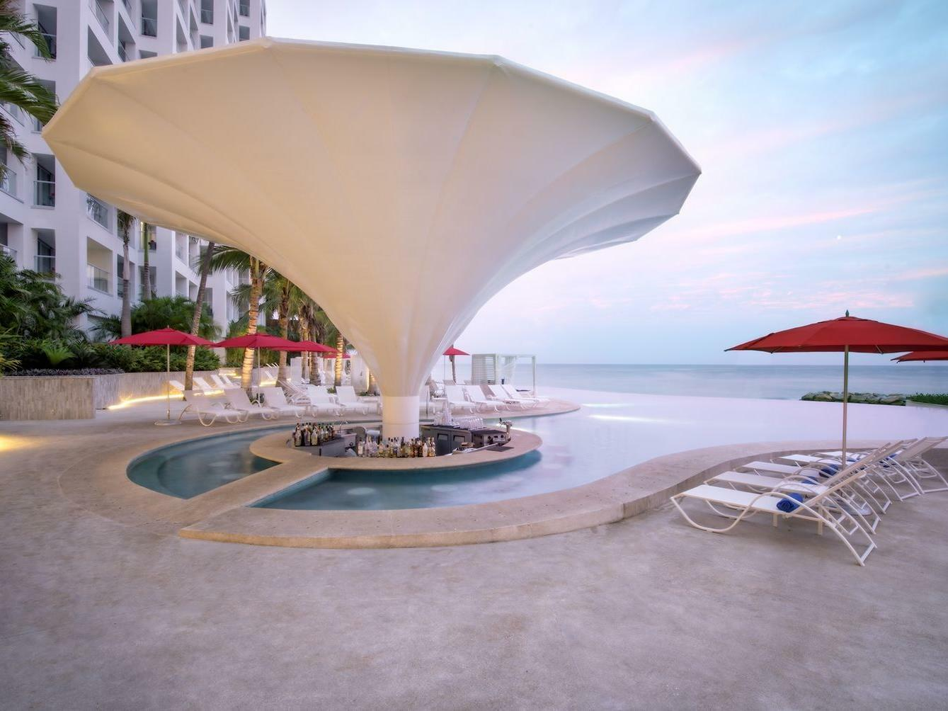 Summer Pool bar at Grand Fiesta Americana Puerto Vallarta All Inclusive Adults Only
