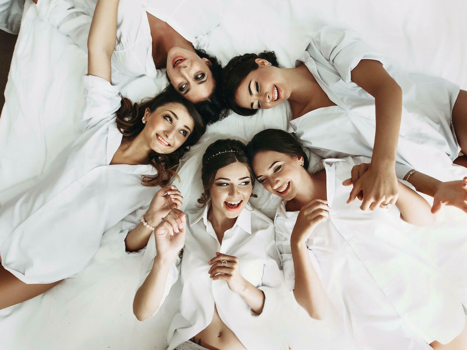Girls having bachelorette party at the La Coleccion Resorts
